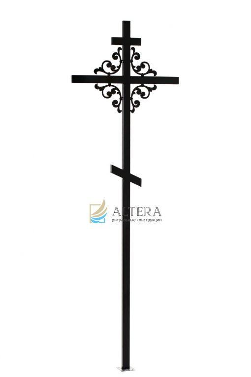 крест фигурный №3, кованный крест, кованые кресты на могилу, крест на кладбище, крест на могилу, крест на памятник, крест художественный, металлические кресты, могильный крест, надгробный крест, православный крест на могилу, альтера, altera, скиб, оптом кресты, москва, тольятти, самара, сызрань, казань, рязань, чебоксары, челябинкс, уфа, оренбург,