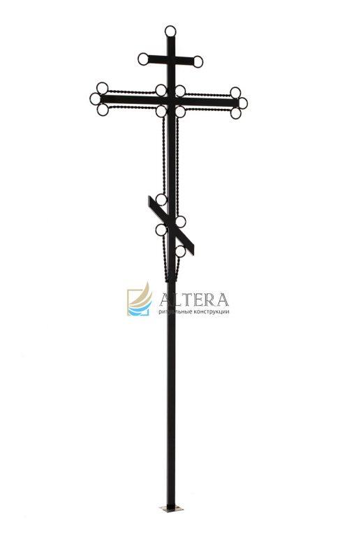 крест фигурный №1, кованный крест, кованые кресты на могилу, крест на кладбище, крест на могилу, крест на памятник, крест художественный, металлические кресты, могильный крест, надгробный крест, православный крест на могилу, альтера, altera, скиб, оптом кресты, москва, тольятти, самара, сызрань, казань, рязань, чебоксары, челябинкс, уфа, оренбург,