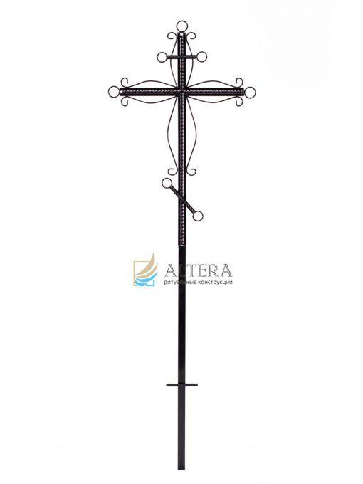 крест фигурный №2, кованный крест, кованые кресты на могилу, крест на кладбище, крест на могилу, крест на памятник, крест художественный, металлические кресты, могильный крест, надгробный крест, православный крест на могилу, альтера, altera, скиб, оптом кресты, москва, тольятти, самара, сызрань, казань, рязань, чебоксары, челябинкс, уфа, оренбург,