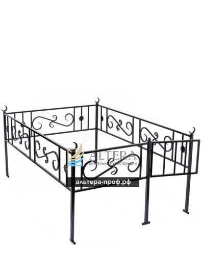 ограда с элементами ковки мусульманская