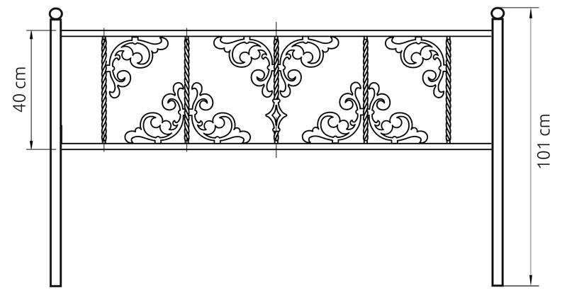 глория оградка