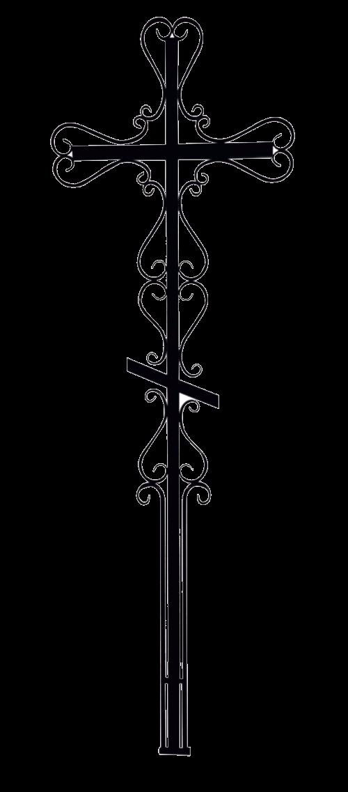 Крест фигурный 4